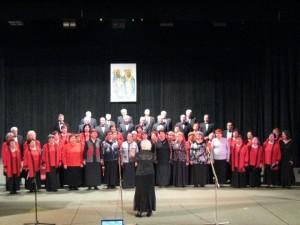 """женски хор """"Аспарухово ехо"""" и мъжки хор """"Възрожденци"""""""